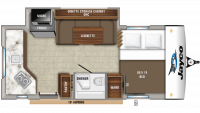 2020 Hummingbird 17RK Floor Plan
