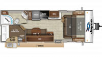 2020 Jay Feather 23BHM Floor Plan