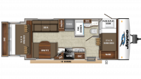 2020 Jay Feather X213 Floor Plan