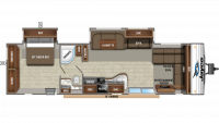 2020 Jay Flight 38FDDS Floor Plan