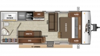 2020 Jay Flight SLX 232RB Floor Plan