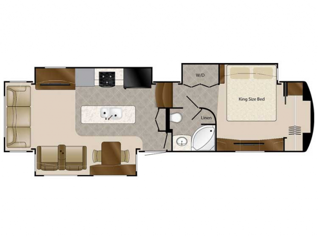 2020 Mobile Suites 36RSSB3 Floor Plan