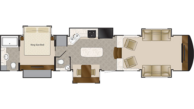 2020 Mobile Suites 44 NASHVILLE Floor Plan