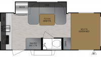 2020 No Boundaries 16.7 Floor Plan