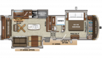 2020 North Point 315RLTS Floor Plan