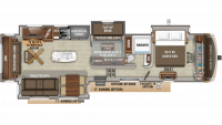 2020 North Point 377RLBH Floor Plan