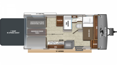 2020 Octane Super Lite 209 Floor Plan Img
