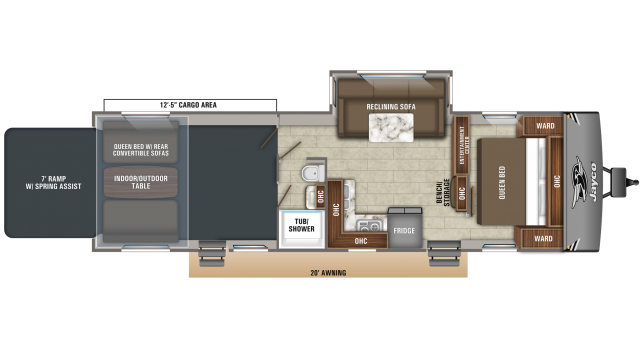 2020 Octane Super Lite 293 Floor Plan