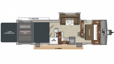 2020 Octane Super Lite 293 Floor Plan Img