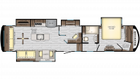 2020 Redwood 3881ES Floor Plan