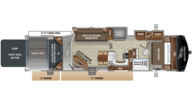 2020 Seismic 4013 Floor Plan