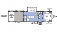 2020 XLR Boost 31QB Floor Plan