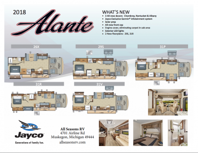 2018 Alante Flyer Cover