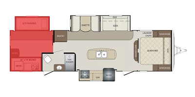 Bunkhouse Floor Plan