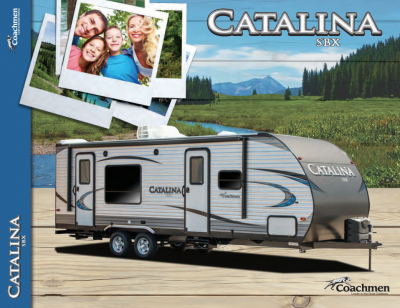 2018 Catalina SBX Brochure Cover