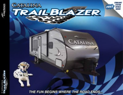 2017 Coachmen Catalina Trail Blazer RV Brand Brochure Cover