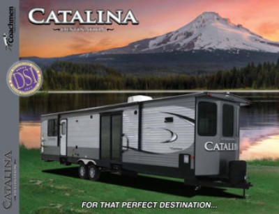 2017 Coachmen Catalina Destination RV Brand Brochure Cover