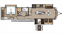 2019 Catalina Destination 39MKTS Floor Plan