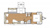 2019 Catalina Legacy Edition 263RLS Floor Plan