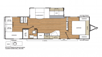 2019 Catalina Legacy Edition 293QBCK Floor Plan
