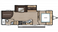 2019 Catalina SBX 281DDS Floor Plan