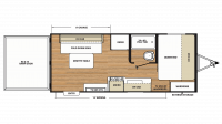 2019 Catalina Trail Blazer 19TH Floor Plan