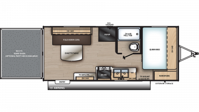 2019 Catalina Trail Blazer 19TH Floor Plan Img