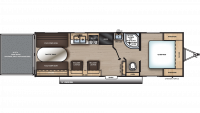 2019 Catalina Trail Blazer 26TH Floor Plan