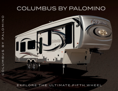 2018 Palomino Columbus Compass Series RV Brochure Cover