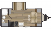 2019 Shadow Cruiser 193MBS Floor Plan