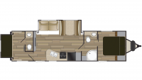 2019 Shadow Cruiser 289RBS Floor Plan
