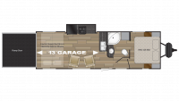 2019 Stryker 2613 Floor Plan