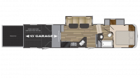 2019 Stryker 3313 Floor Plan