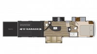 2019 Stryker 3513 Floor Plan