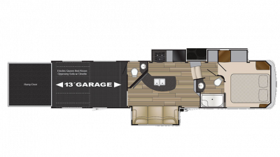 2018 Stryker 3513 Floor Plan