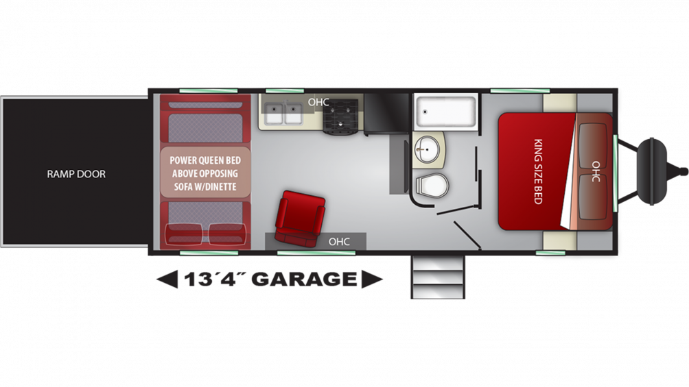 2019 Stryker 2313 Floor Plan Img