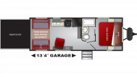 2019 Stryker 2313 Floor Plan