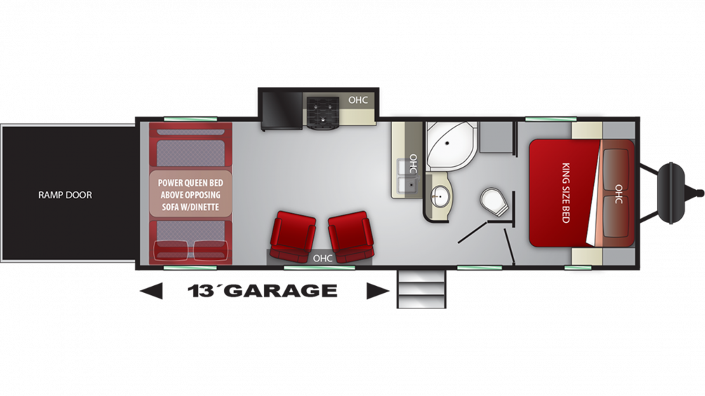 2019 Stryker 2613 Floor Plan Img