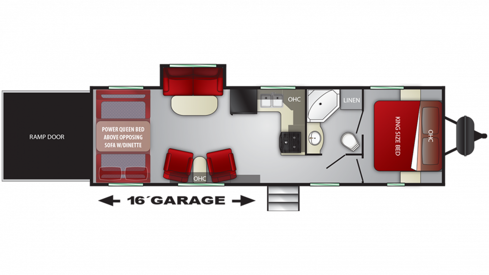 2019 Stryker 2912 Floor Plan Img