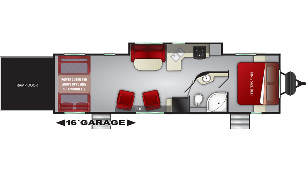 2019 Stryker 2916 Floor Plan Img