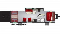 2019 Stryker 2916 Floor Plan