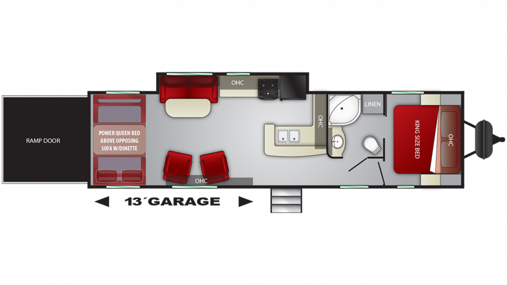 2019 Stryker 3116 Floor Plan Img
