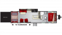 2019 Stryker 3116 Floor Plan