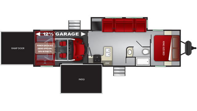 2019 Stryker 3212 Floor Plan Img