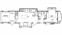 2019 Full House JX390 Floor Plan