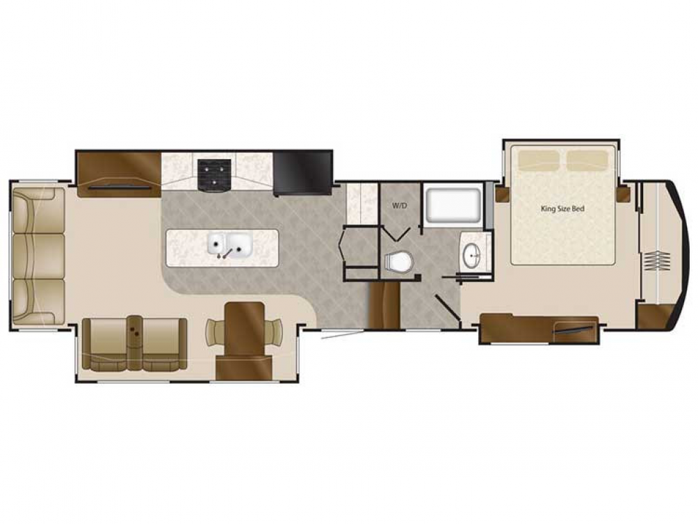 2019 Mobile Suites 38RSSA Floor Plan Img