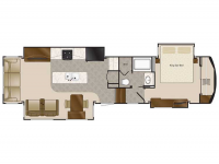 2019 Mobile Suites 38RSSA Floor Plan