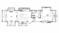 2019 Mobile Suites Aire 39 Floor Plan