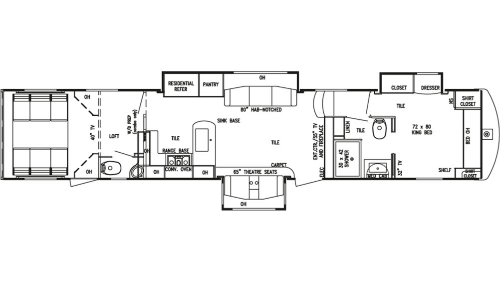 2019 Mobile Suites Aire 413 Floor Plan Img
