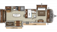 2020 Eagle 330RSTS Floor Plan